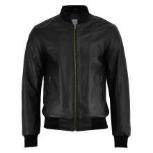 Markab Light-weight Casual Wear Bomber Leather Jacket